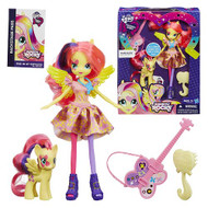 My Little Pony Equestria Girls Rainbow Rocks Fluttershy Doll with Pony