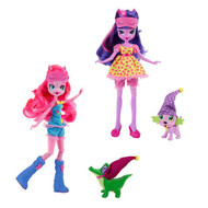 My Little Pony Equestria Girls Dolls with Pets Wave 1 Set