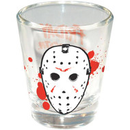Friday the 13th Jason Hockey Mask Shotglass