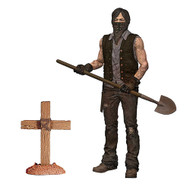 The Walking Dead TV Series 9 Grave Digger Daryl Dixon Dirt Version Action Figure
