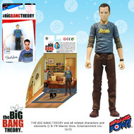 The Big Bang Theory Sheldon Batman T-Shirt 3 3/4-Inch Figure Series 1