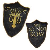 Game of Thrones House Greyjoy Kraken Throw Pillow