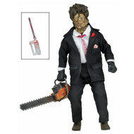 The Texas Chainsaw Massacre 2 Leatherface 8-Inch Clothed Retro Figure