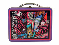 Monster High Action Large Embossed Tin Lunch Box