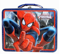 Spider-Man Pointing Large Embossed Tin Lunch Box