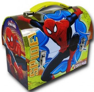 Spider-Man Spidey Large Workman Carry All Tin Lunch Box