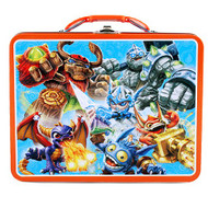 Skylanders Blue Embossed Large Lunch Box