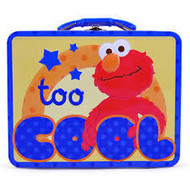 Sesame Street Elmo Too Cool Embossed Carry All Tin Lunch Box