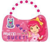 Strawberry Shortcake Friend Me Scoop Purse Tin Tote