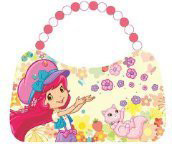 Strawberry Shortcake Flowers Scoop Purse Tin Tote