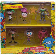 The Fairly OddParents 2-Inch Deluxe Mini-Figure 6-Pack