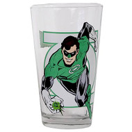 Green Lantern Glass Toon Tumbler