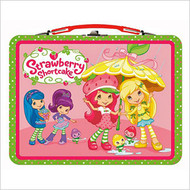 Strawberry Shortcake (Yellow Umbrella) Embossed Lunch Box