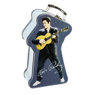 Elvis Presley Embossed Tin Tote