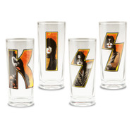 KISS 10-Ounce Glasses 4-Pack