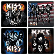 KISS Coaster 4-Pack