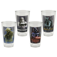 Star Wars 16-Ounce Glasses 4-Pack
