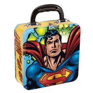 Superman Square Tin Tote