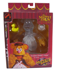 Muppets Invisible Spray Fozzie Action Figure