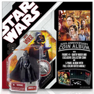 Star Wars 30th Anniversary Darth Vader with Coin Album