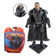 Superman Man of Steel Movie Masters Zod with Armor Figure