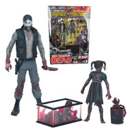 The Walking Dead Comic Series 2 Black and White Bloody Governor and Penny Previews Exclusive Action Figure 2-Pack