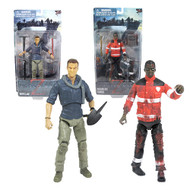 World War Z 6-Inch Zombie and Hero Action Figure Set