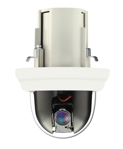 2MP In-Ceiling 5x Zoom Repositionable IP Dome Camera with WDR