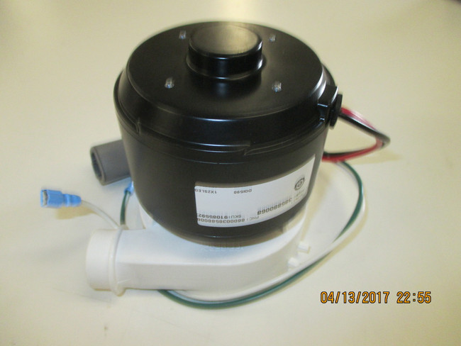 Dometic / Sealand Masterflush pump and motor replacement 24 Volts.