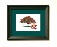 Poinciana Tree Print