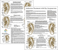 Smoking Cessation Ear Acupuncture Point Chart