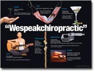 We Speak Chiropractic Poster