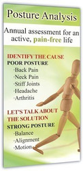 Posture Screening Display Banner- Vertical