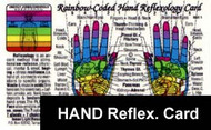 Hand Reflexology Card