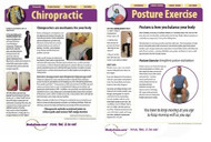 Chiropractic Posture Poster (set of 2)