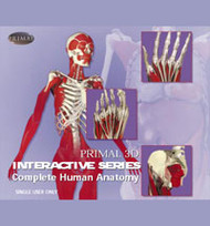 Interactive 3D Chiropractic Edition 9 CD-ROMs