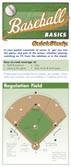 Baseball Basics Pocket Reference