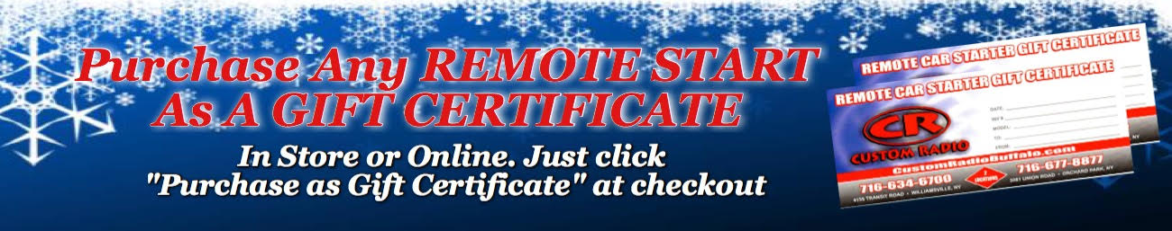 Purchase a Remote Start Gift Certificate - In Store or Online