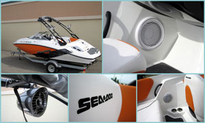 18 ft SeaDoo - Custom Audio System