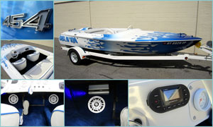 1973 Chris Craft - Custom Audio System