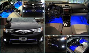 2012 Toyota Camry - Custom LED & HID Lighting