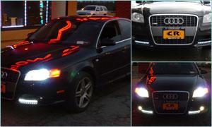 Audi A4 - Custom LED Lighting