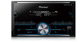 Pioneer MVH-S400BT NEW! Double DIN Digital Media Receiver with Improved Pioneer ARC App Compatibility, MIXTRAX®, Built-in Bluetooth®