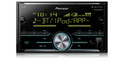 Pioneer MVH-S600BS NEW! Double DIN Digital Media Receiver with Enhanced Audio Functions, Improved Pioneer ARC App Compatibility, MIXTRAX®, Built-in Bluetooth®, and SiriusXM-Ready™