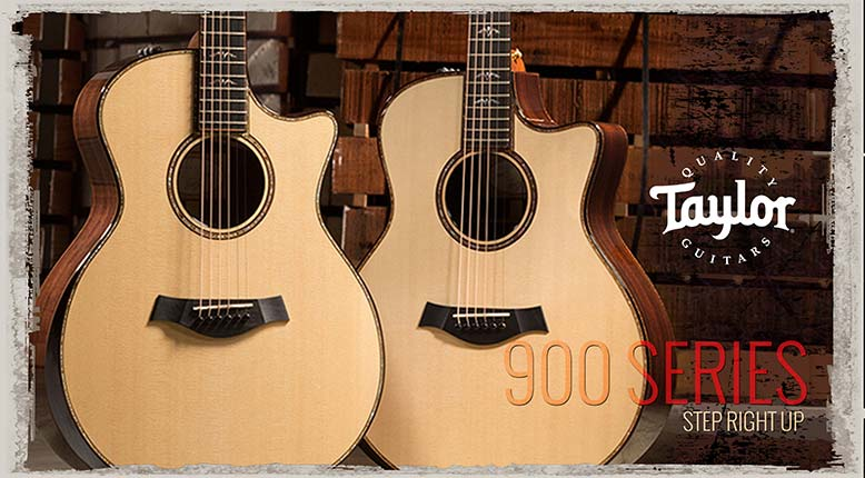 Best acoustic guitars online! Taylor 900 series - Only the best guitars at the Northeast Music Center Inc