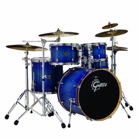 Gretsch Catalina Birch 5 pc Drum Shell pack in Blue Burst