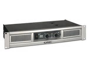 QSC GX3 Poweramp