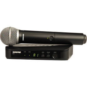 Shure BLX24/PG58 J10 Band Handheld Wireless Microphone System