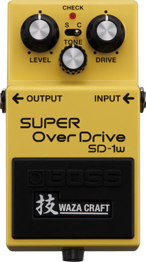 Boss SD-1W Super Overdrive Waza Craft Special Edition (SD1W)