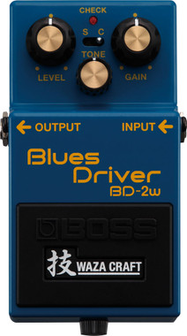 Boss BD-2W Blues Driver Waza Craft Special Edition (BD-2W)